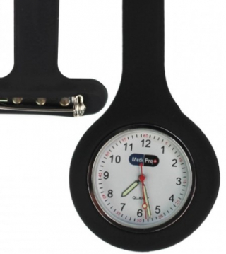 Image of Medipro Nurses Fob Watch Removable Silicone Cover Black