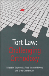 Image of Tort Law : Challenging Orthodoxy