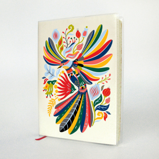 Image of A6 Journal : Flying Fantail