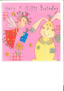 Image of Have A Hoppy Birthday : Greeting Card