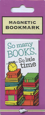 Image of So Many Books : Magnetic Bookmark