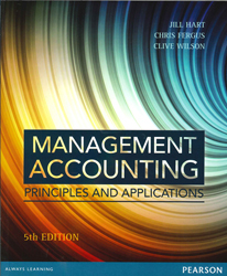 Image of Management Accounting : Principles And Applications