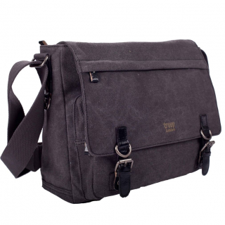 Bag Troop Classic Laptop Messenger Black