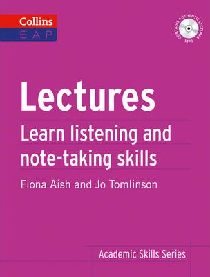 Image of Lectures : Learn Listening And Note-taking Skills : Collins Academic Skills + Audio Cd