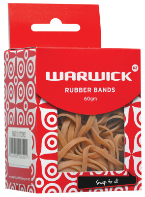 Image of Rubber Bands Warwick No 32 60g