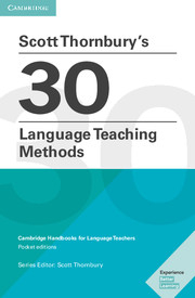Image of Scott Thornbury's 30 Language Teaching Methods : Cambridge Handbooks For Language Teachers