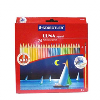 Image of Pencils Staedtler Luna Watercolour 24 Pack