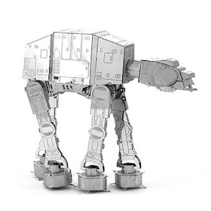 Image of 3d Metal Model Kits Metal Earth : Star Wars At-at Walker