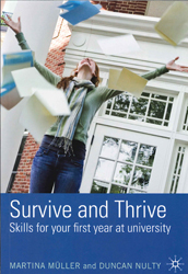 Image of Survive And Thrive : Foundations Skills For Your First Year At University