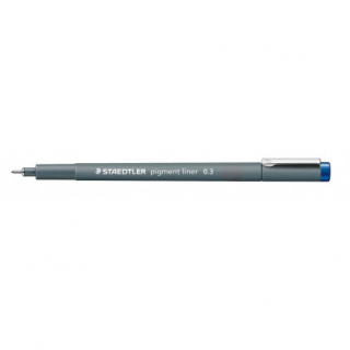 Image of Pen Staedtler Pigment Liner 0.3mm Blue