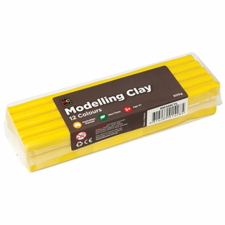 Image of Modelling Clay Ec 500gm Yellow