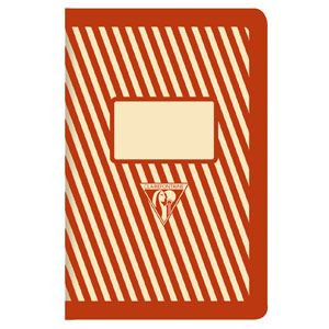 Image of Notebook Back To Basics Pocket Lined Red