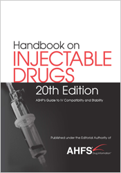 Image of Handbook On Injectable Drugs