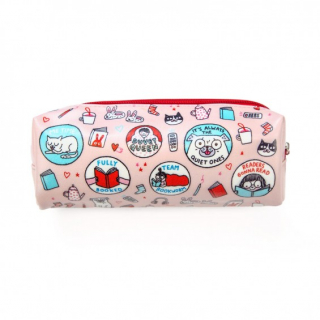 Image of Scout Patches Gemma Correll Pencil Case