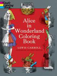 Image of Alice In Wonderland Coloring Book