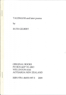 Image of Talisamans & Later Poems