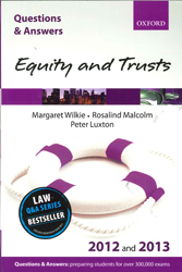 Q&a Equity & Trusts : 2012 And 2013