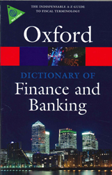 Image of Oxford Dictionary Of Finance And Banking