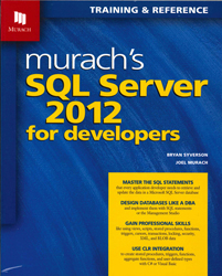 Image of Murachs Sql Server 2012 For Developers