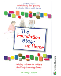 Image of Foundation Stage At Home A Practical Guide For Childminders & Parents To Educating Children Aged 3-5 Years