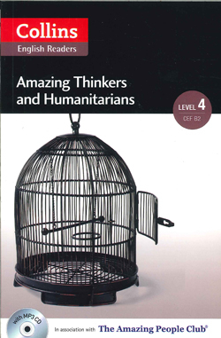 Image of Amazing Thinkers & Humanitarians : Collins Amazing People Elt Readers : Level 4 (b2)