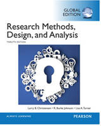 Image of Research Methods Design And Analysis Global Edition