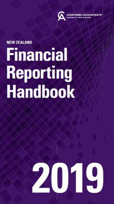 Image of Financial Reporting Handbook 2019 New Zealand