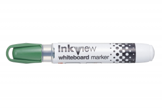 Image of Whiteboard Marker Uni Inkview Bullet Green