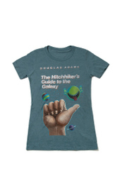 The Hitchhiker's Guide To The Galaxy : Women's Medium T-shirt