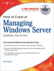 Image of How To Cheat At Managing Windows Server Update Services