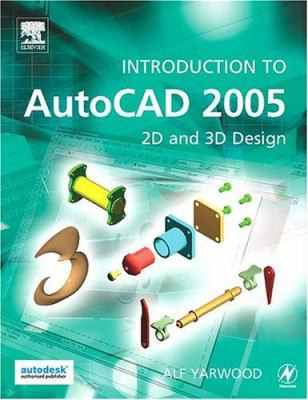 Image of Intro To Autocad 2005 2d & 3d Design