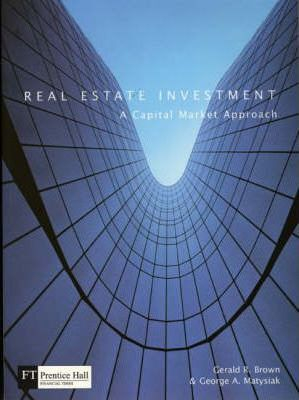 Image of Real Estate Investment A Capital Market Approach