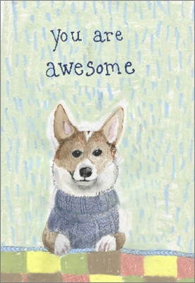 Image of You Are Awesome : Greeting Card