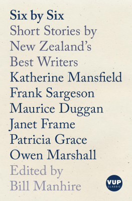 Image of Six By Six : Short Stories By New Zealand's Best Writers