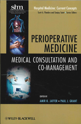 Image of Perioperative Medicine : Medical Consultation And Comanagement