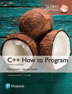 Image of C++ How To Program : Early Objects Version : Global Edition