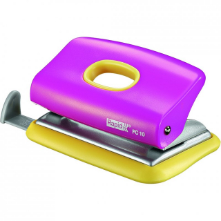 Image of Hole Punch Rapid Funky Fc10 Pink Yellow