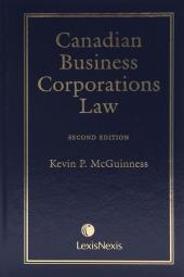Image of Canadian Business Corporations Law