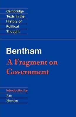 Image of Bentham : A Fragment On Government