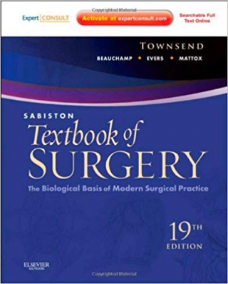 Image of Sabiston Textbook Of Surgery : The Biological Basis Of Modern Surgical Practice
