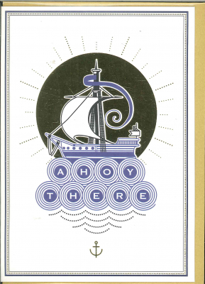 Image of Ahoy There : Greeting Card