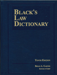 Image of Black's Law Dictionary