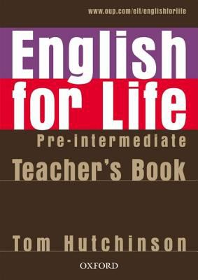 Image of English For Life : Pre-intermediate Teacher's Book