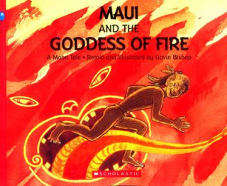Image of Maui And The Goddess Of Fire