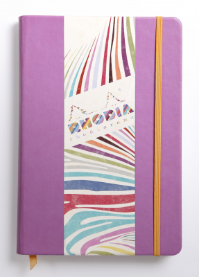 Image of Notebook Rhodiarama Webnotebook A5 Plain Lilac