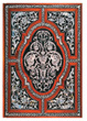 Image of Exotic Marquetry Mother-of-pearl Unlined Journal Midi Format