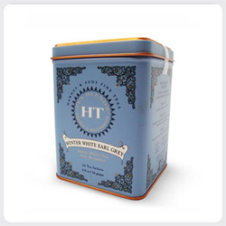 Image of Harney Tea : Winter White Earl Grey Ht Tin
