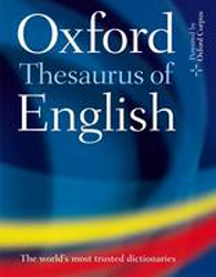 Image of Oxford Thesaurus Of English