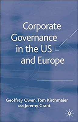 Image of Corporate Governance In The Us & Europe
