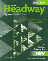 Image of New Headway : Beginner Teachers Book With Resource Disc